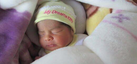 Un bebe al nacer