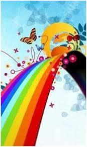 ¿Cuáles son los colores del arcoíris?