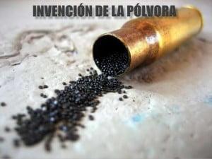 Invencion de la polvora