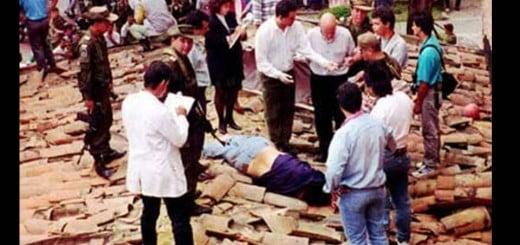 Muerte de Pablo Escobar