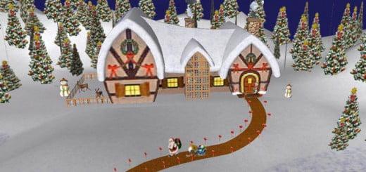 Santa Claus y el Polo Norte