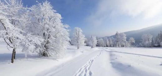 Como se forma la nieve