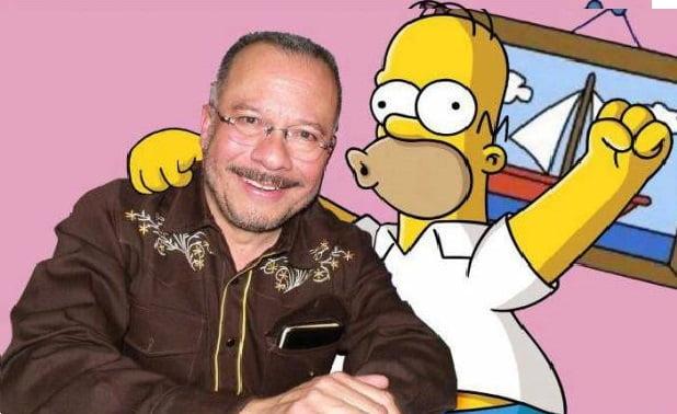 Humberto Velez y Homero Simpson