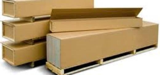 cajas de carton y madera
