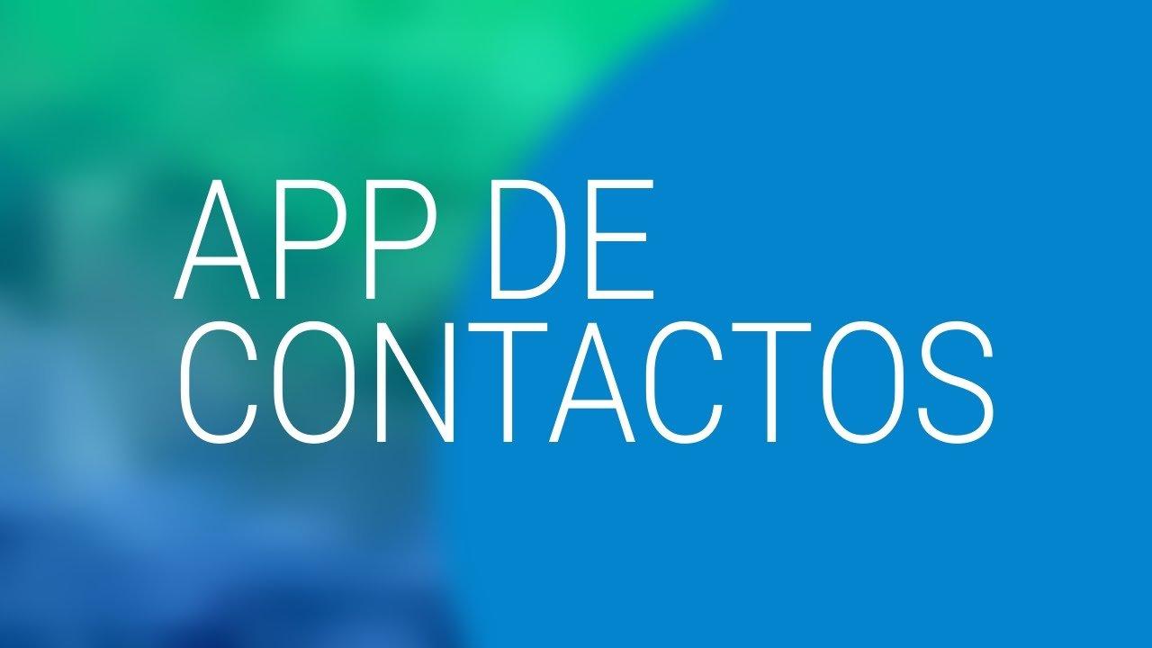 Agenda contactos