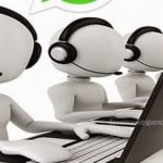 whatsapp call center