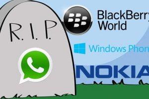whatsapp no funciona en blackberry