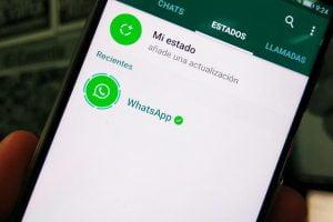 Cambiar estado whatsapp