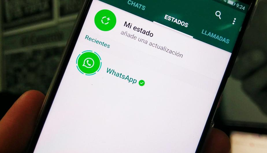 Cambiar estado whatsapp