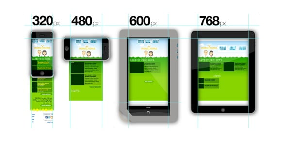 Responsive Web Design mobile