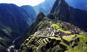 Santuario histórico de la Humanidad de Machu Picchu, tomada de internet