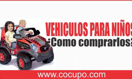 comprar vehiculos para niños