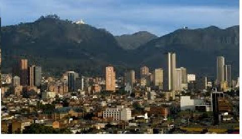 Vista Ciudad de Bogota