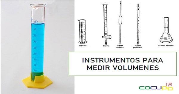 Con que instrumento se mide el volumen