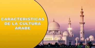 Caracteristicas de la cultura arabe