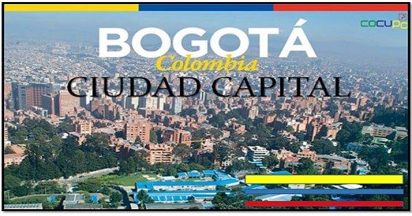 Ciudad de Bogota capital de Colombia