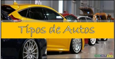 tipos de coches segun su categoria