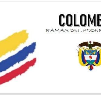 Ramas del poder publico en Colombia
