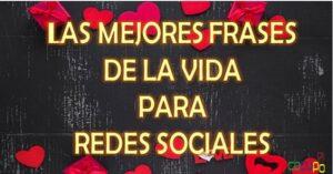 Frases de amor y amistad para redes sociales