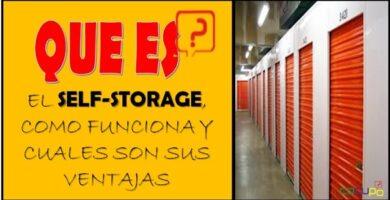 Como funciona el Self-storage